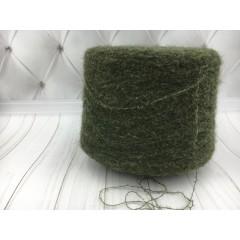 Итальянская пряжа BABY SURY Br. ( темно зеленый) Альпака 90%, па 10%. 950 м./100 гр.