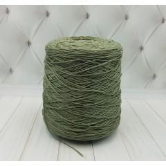Хлопковая пряжа LOUXOR  Anny Blatt (хлопок 100%, 500/100 гр.оливковый)